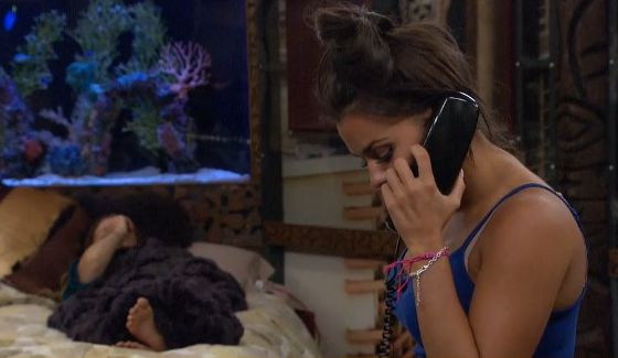 Natalie orders a pizza on Big Brother 18