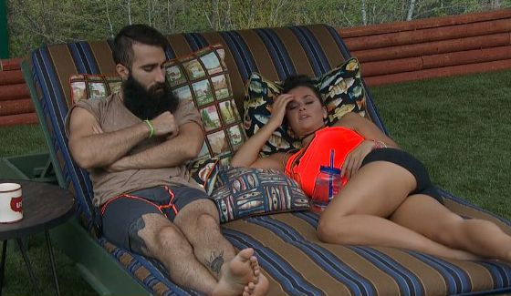 Paul and Natalie chat on BB18
