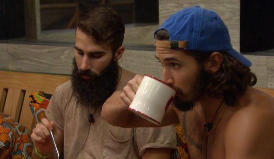 Paul & Victor prepare for the vote