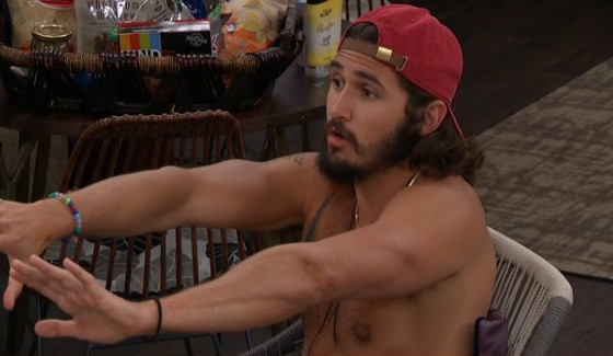 Victor talks votes with Nicole and Corey
