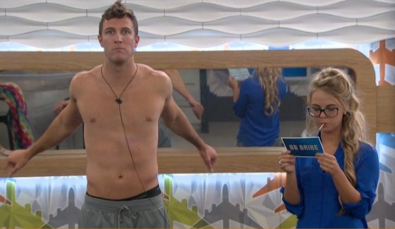 Corey, Nicole, and a BB Bribe