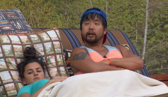 James and Natalie don't see it coming on BB18