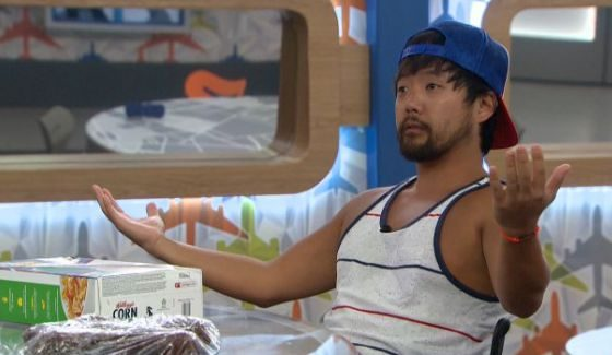James Huling hanging out on BB18