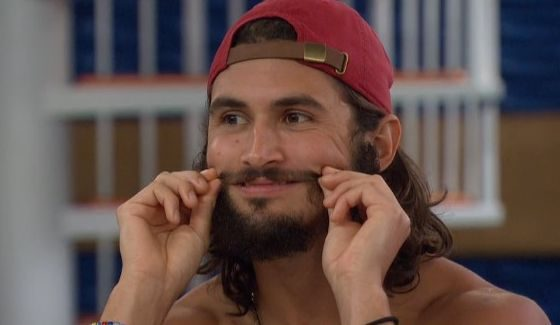 Victor puts on a smile for BB18