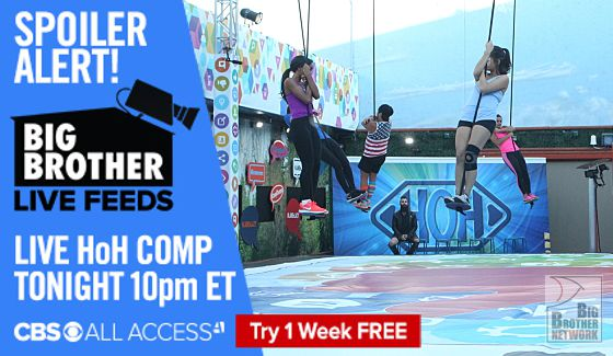 Big Brother Endurance comp on Live Feeds