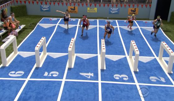 Houseguests race for the Veto on BB18