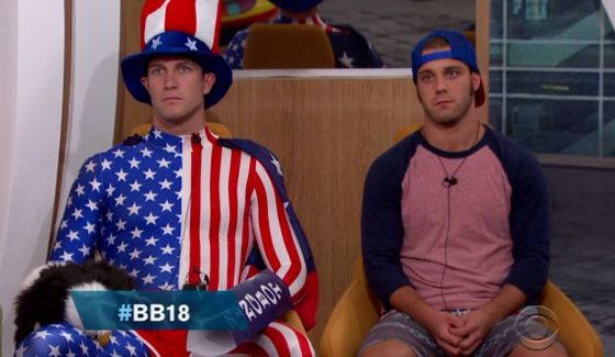 Corey and Paulie face eviction from BB18