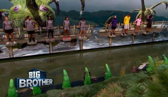 Big Brother 18 Endurance comp Week 10