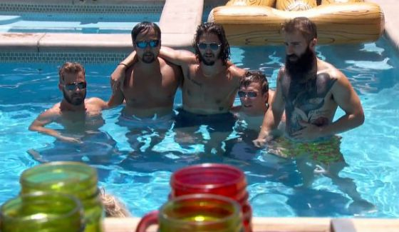 Big Brother 18's final five guys