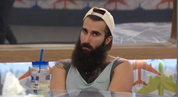 Paul Abrahamian isn't pleased on BB18