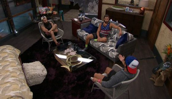 James talks with Victor and Paul on BB18