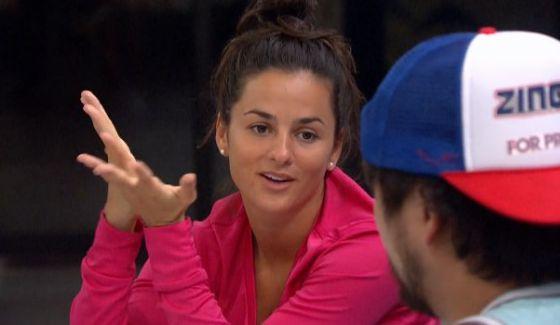 Natalie talks with James on BB18