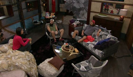 Natalie talks with Victor and Paul on BB18