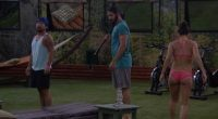 HGs listen to a backyard message