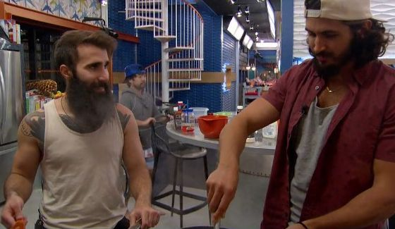 Paul & Victor on Big Brother 18