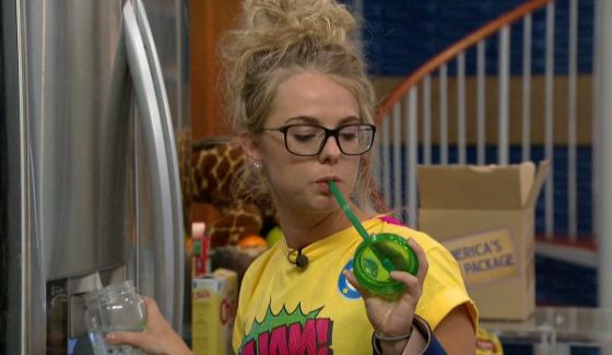 Nicole fuels up for the next Big Brother event