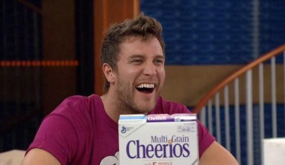 Corey is really excited about Multi-grain Cheerios
