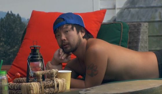 James Huling is taking it off on BB18