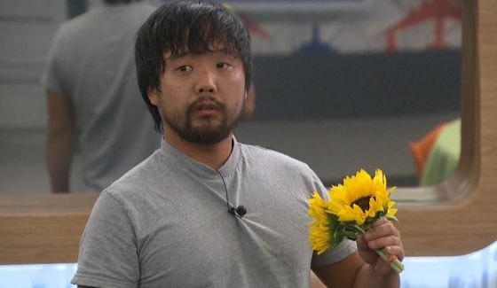 James picked some pretty flowers for you on BB18