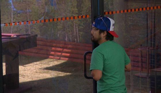 James listens in on Nicole & Paul