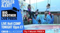 Big Brother Live Feeds Endurance HoH comp