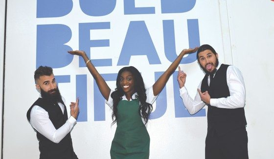 Paul, DaVonne, and Victor on Bold and Beautiful - Photo credit: JPI Studios