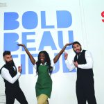 Paul, DaVonne, and Victor on Bold and Beautiful set
