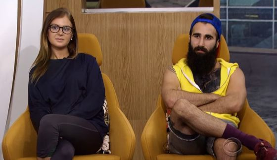 Michelle and Paul face eviction on BB18