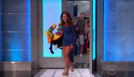 Michelle Meyer evicted from Big Brother 18