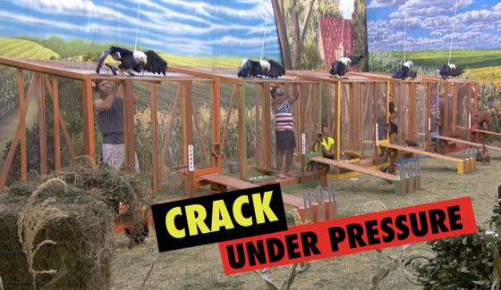 HoH competition on BB18 Episode 35