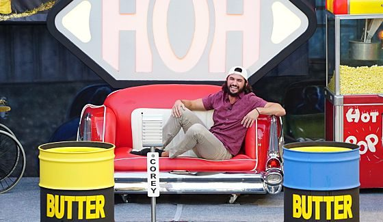 Victor watches the HoH comp - Source: CBS
