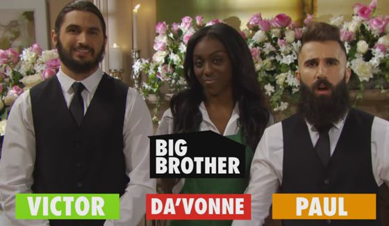 BB18 HGs Victor, Danielle, & Paul on Bold & Beautiful