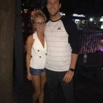 Nicole Franzel & Corey Brooks out for the night