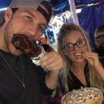 Fair food for Nicole & Corey