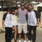 Nicole and Corey with friends - 02