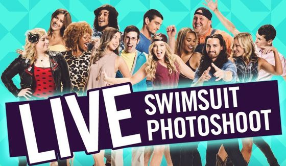BBOTT swimsuit photoshoot on Live Feeds