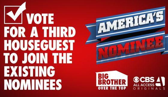 America's Vote open to name 3rd Nominee on BBOTT