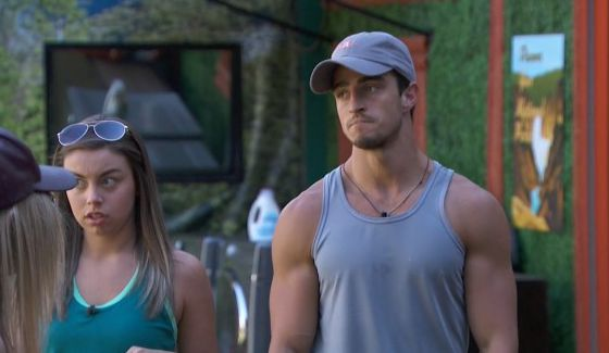 Monte is looking worried about Justin on BBOTT