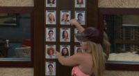 Alex Willett prepares her Safety Ceremony picks on BBOTT
