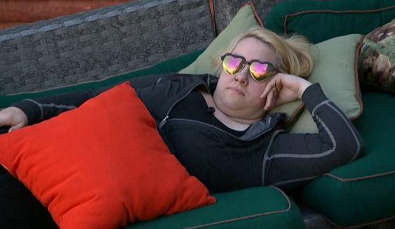 Kryssie Ridolfi hides her napping on BBOTT