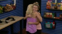 Morgan and Shelby celebrate the Veto win