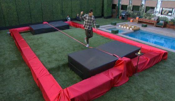 Justin prepares for the F4 Challenge on BBOTT