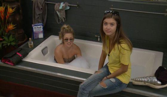 Shelby and Morgan camtalk on BBOTT
