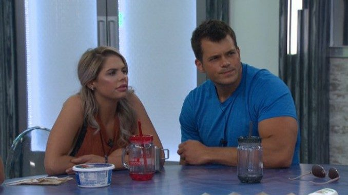 Elena and Mark on BB19