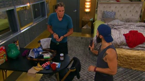 Kevin and Paul plot on Big Brother 19