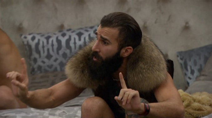 Paul Abrahamian argues on Big Brother 19