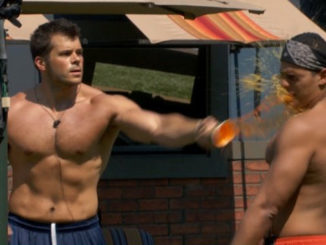 Mark and Josh fight on Big Brother 19