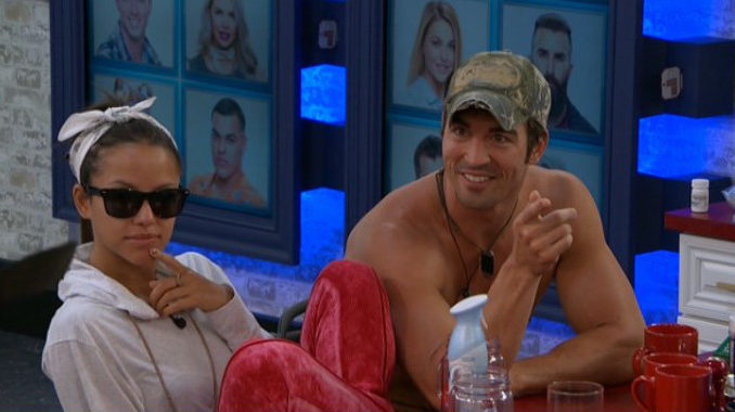 Jessica and Cody await the votes on Big Brother 19