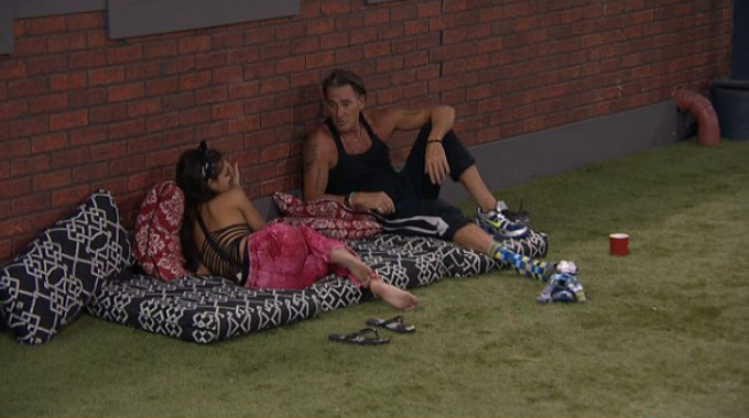 Jessica and Kevin talk game on Big Brother 19