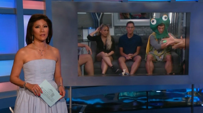 Julie Chen hosts Big Brother 19 Episode 8